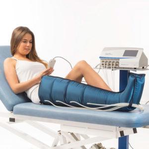 Pressoterapia durante l'allattamento: si può fare?